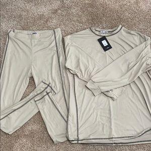 Soft pant set. Fashion Nova